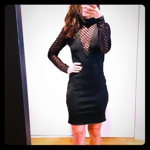WOW Couture Dress w/Deep V